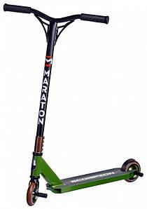 Усиленный трюковый самокат Maraton Scorpion PRO HIC (Зеленый)