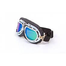 Мотоциклетні окуляри ретро