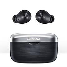 Беспроводные Bluetooth наушники Bluedio Fi с поддержкой aptX (Черный), фото 3