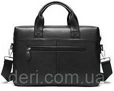 Сумка мужская Vintage 14579 Черная, Черный, фото 3