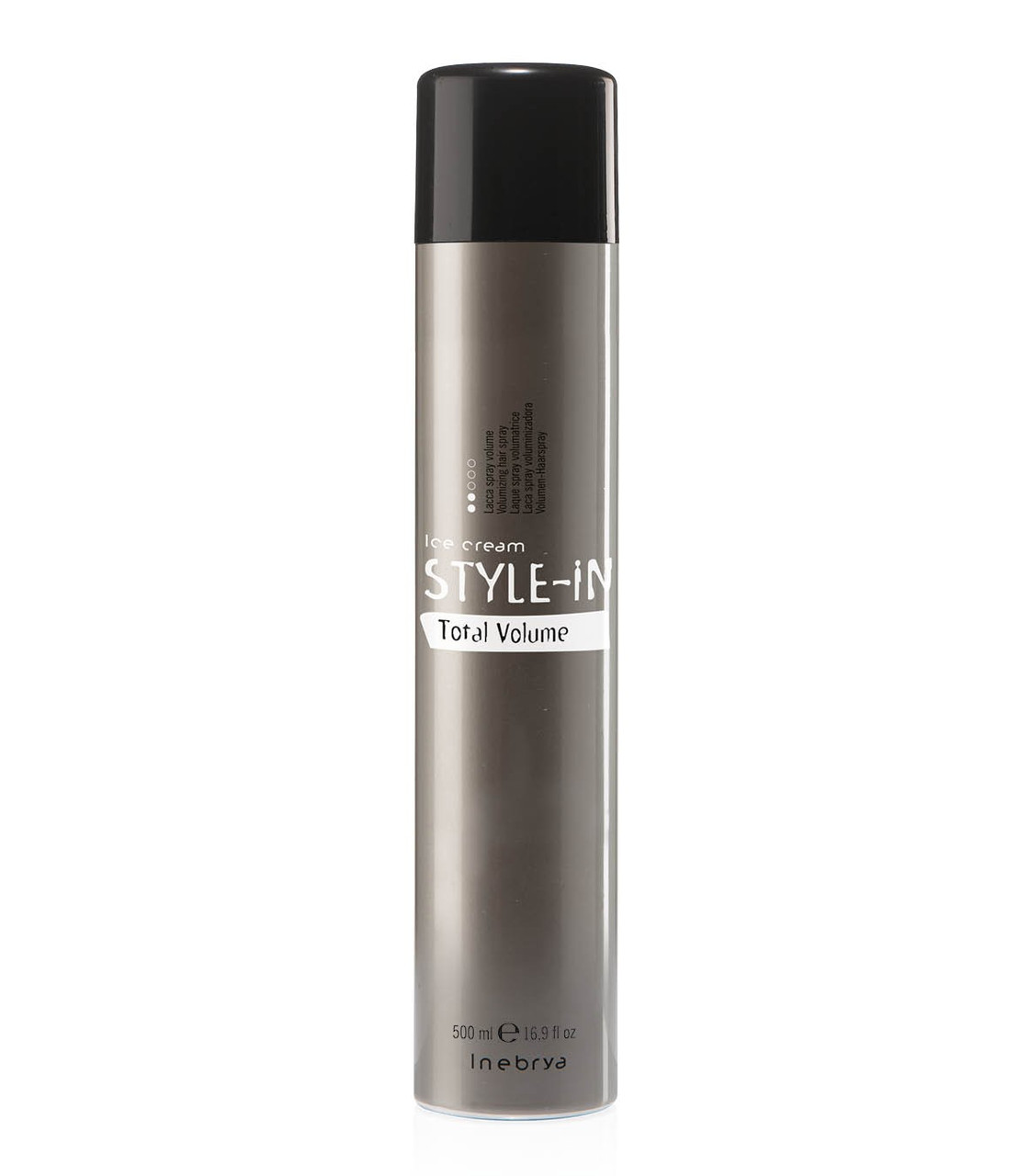 Спрей (лак) для объема волос Inebrya Style-In Total Volume 500мл
