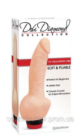 Реалистичный вибратор - Debi Diamond Collection 1