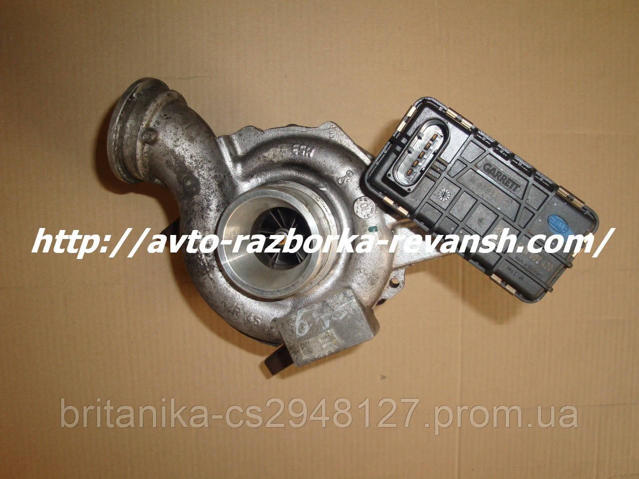 Турбина Мерседес Спринтер 906 (ОМ646  2.2 ) електронная