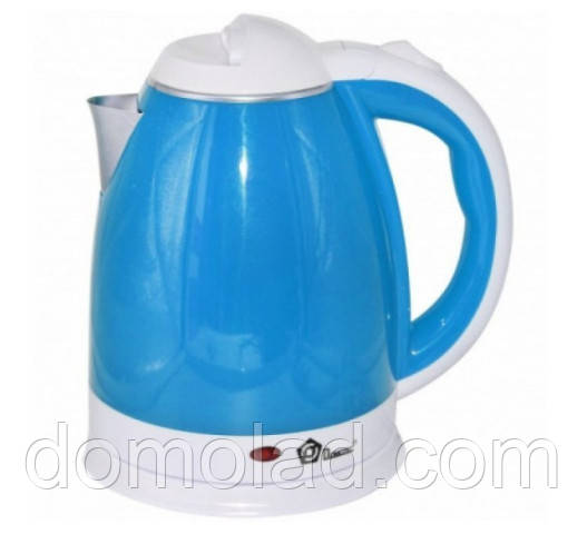 Электрочайник Domotec MS-5024 Мощность 1500 Вт Чайник Электрический Голубой 2 Л