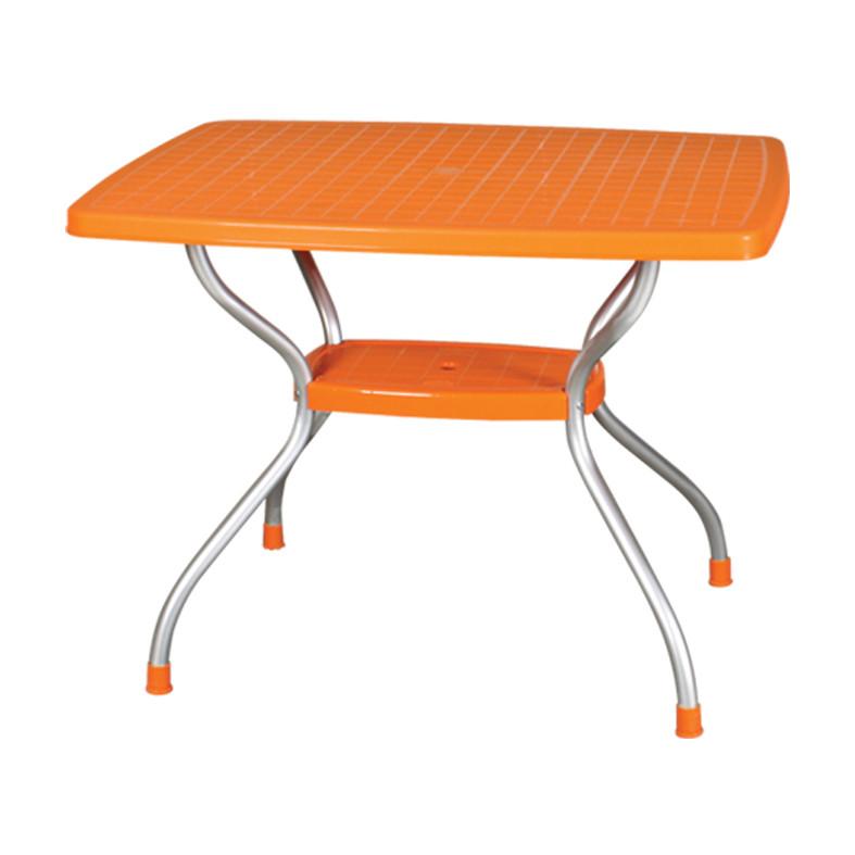 Стол Irak Plastik Vega 70x100 оранжевый