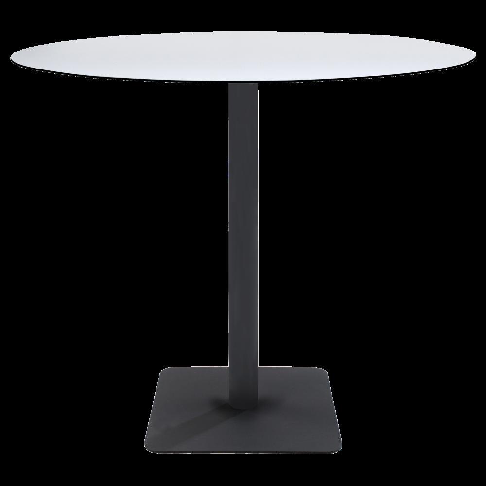 База стола Lotus Square 40x40x73 см черная Papatya