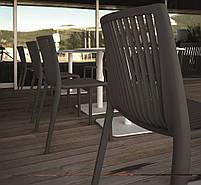 База стола Lotus Square 40x40x73 см черная Papatya, фото 3