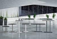 База стола Lotus Square 40x40x73 см черная Papatya, фото 5