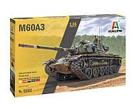 M60A3 MBT. Сборная модель танка в масштабе 1/35. ITALERI 6582