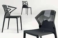Стул Papatya Ego-S черное сиденье, верх черный, фото 3