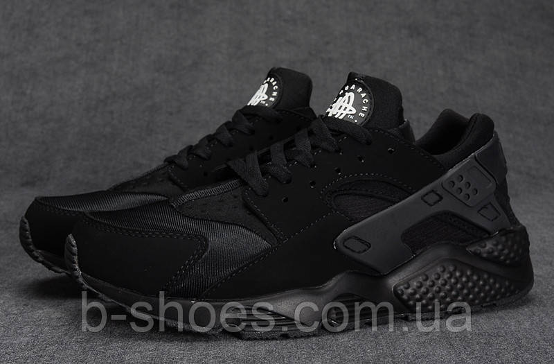 Кроссовки Nike Air Huarache (Black)