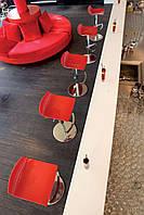 Барное кресло Papatya X-Treme B прозрачно-красный, фото 3