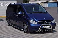 Захист переднього бампера (кенгурятник, бугель, дуга) Mercedes Vito 639