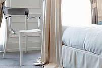 Кресло Papatya Hera-K песочно-бежевое сиденье, верх прозрачно-пурпурный, фото 5