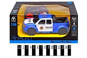 """Машина """"Поліція"""" (радіокерування, коробка) 6147H р. 20*13*10см."""