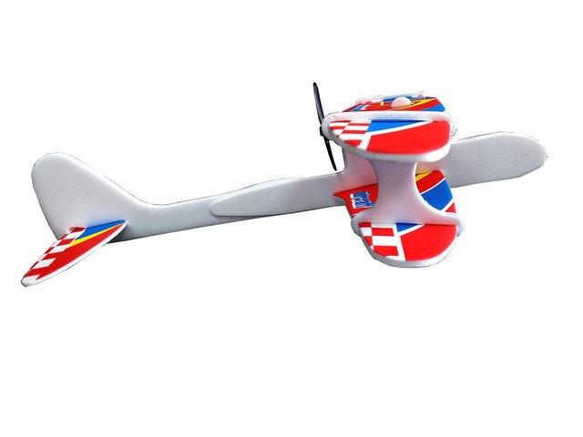 Літак 1115 аккум,  пінопласт