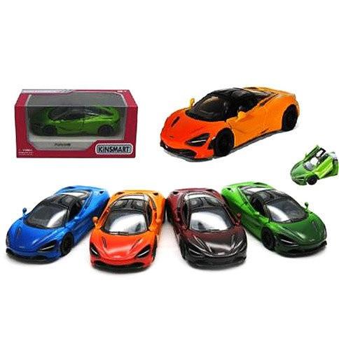 "Модель легкова ""KINSMART"" 5 'KT5403WG McLaren MSO 720S Gradient метал.інерц.откр.дв.4цв.кор. / 96 /"