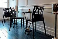 Стул Papatya Ego-Rock антрацит сиденье, верх черный, фото 4