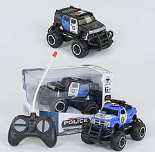 Джип Поліція на радіокеруванні 6146 G / 6146 H (96/2) 2 кольори, повний привід, на батарейках, в коробці