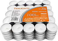 Чайные свечи-таблетки BISPOL, упаковка 100 шт
