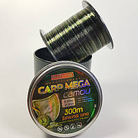 Леска Carp Mega - Camou 300м / 0.33мм / 12.80кг