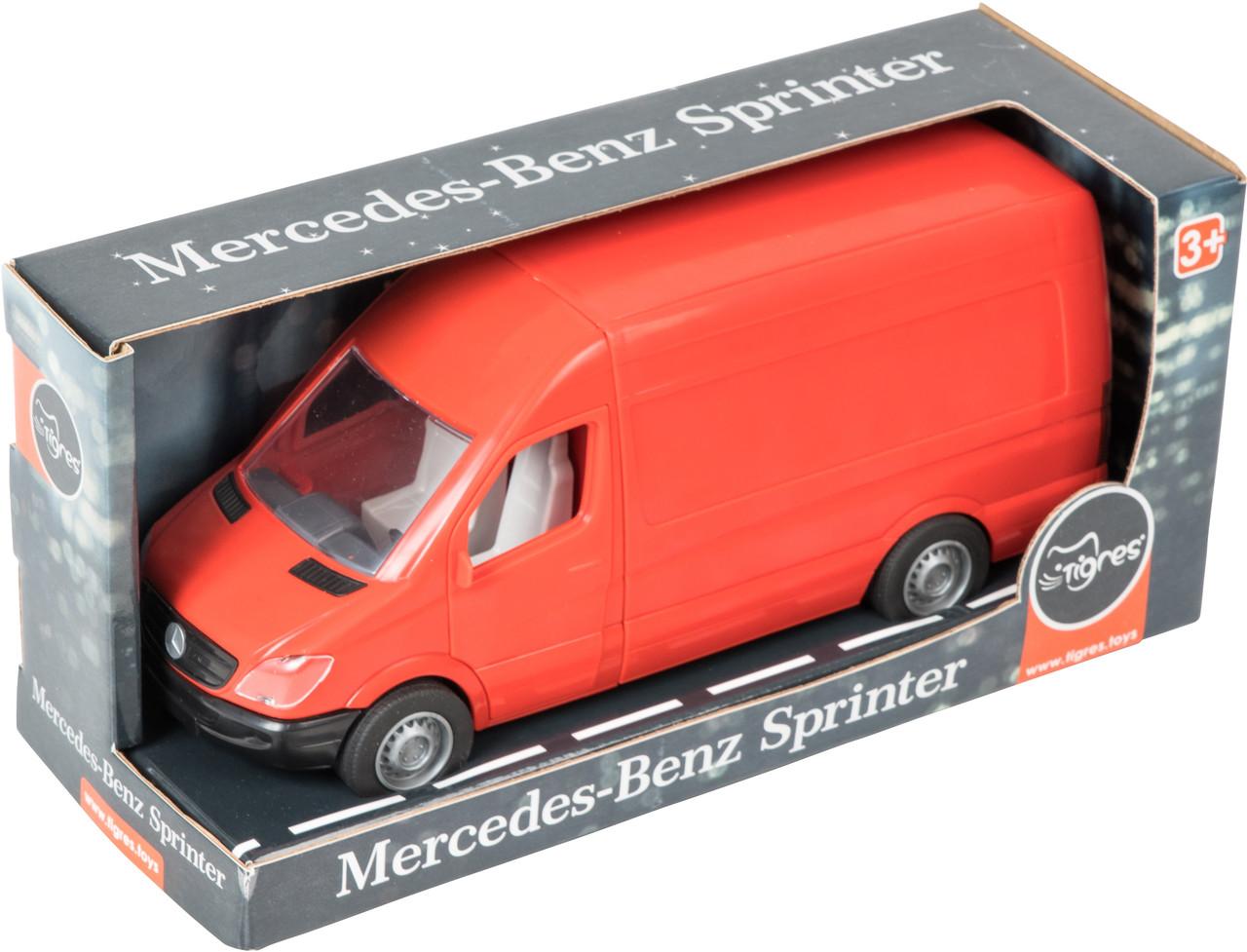"""Автомобіль """"Mercedes-Benz Sprinter"""" вантажний (червоний), Tigres 39652"""