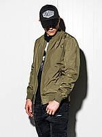 Чоловіча повсякденна куртка-бомберка C439 - зелений - XXL