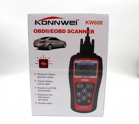OBDII/EOBD scanner KW 808 (art. 6816), фото 2