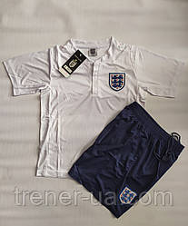 Футбольная форма детская сборная Англии белая