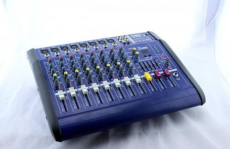 Аудіо мікшер Mixer BT 8300D 8ch, фото 2