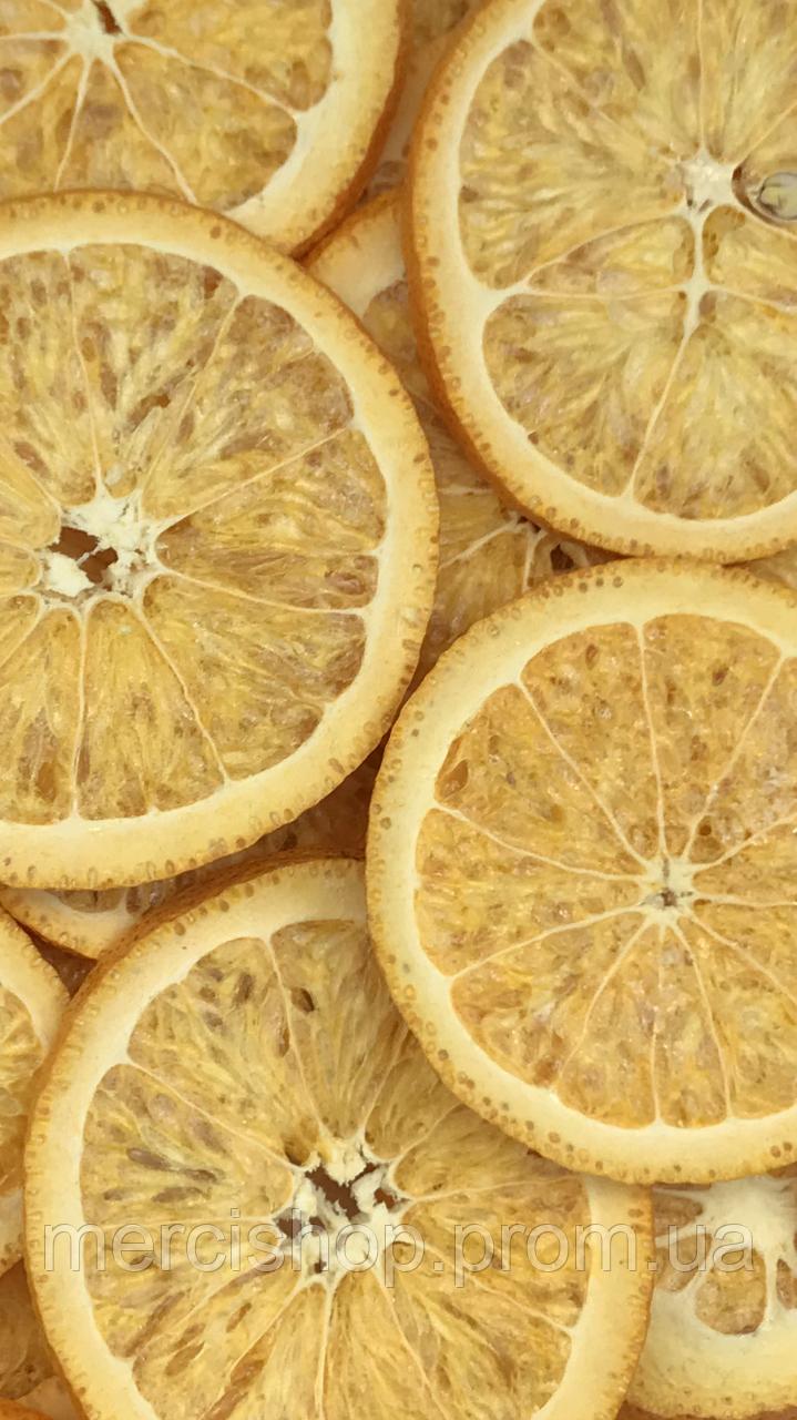 Сублімований апельсин кільцями, 50г