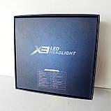 Светодиодные лампы для авто Turbo LED X3 H11, 6500K 50W, ближний/дальний, LED в авто, радиаторное охлаждение, фото 7