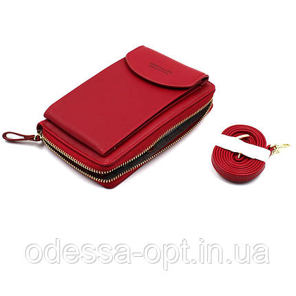 Гаманець, портмоне FOREVER Baellerry Red, фото 2