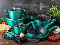 Набор посуды Edenberg EB-5623 Green Line - 15 пр
