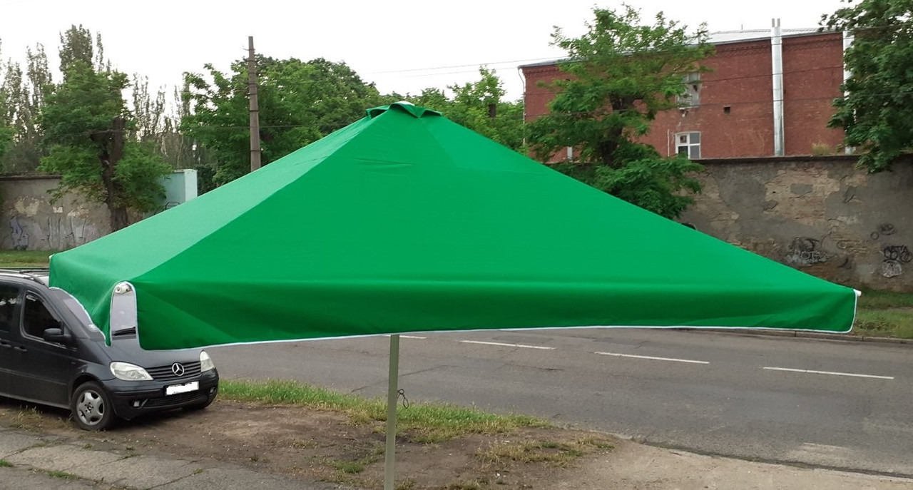 Б/у зонт 4х4 и новый тент, барный, торговый, зонт уличный, тросовый