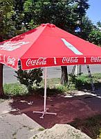 Б/у зонт 4х4 и новый тент, барный, торговый, зонт уличный, тросовый, фото 4