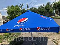 Б/у зонт 4х4 и новый тент, барный, торговый, зонт уличный, тросовый, фото 5