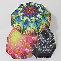 Женский зонт полуавтомат цветной Monsoon