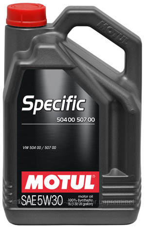 motul specific volkswagen vw 504 00 507 00 sae 5w30 5. Black Bedroom Furniture Sets. Home Design Ideas