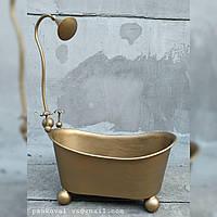 Ванночка для фотосессий. Реквизит для фотозон, мебель для кукол. Модель 3