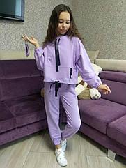 Подростковый спортивный костюм с маской для девочек Марьяна ТМ Мадлен Размер 164