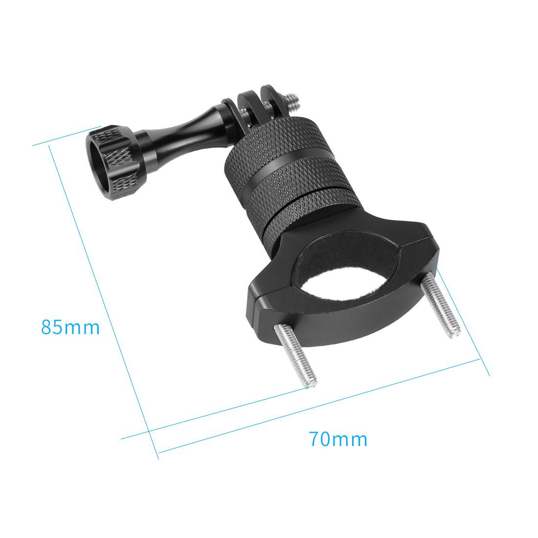 Крепление держатель на руль для gopro hero екшн экшен камеры метал черная