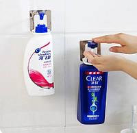 Настенный держатель для жидкого мыла ( Универсальный держатель для средств гигиены )