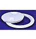 Лючок инспекционный 102mm белый, фото 2