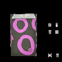 """Бумажный Пакет """"Colormix"""" 170*100*50, (В*Ш*Г), (уп/100шт) 1000шт/ящ"""
