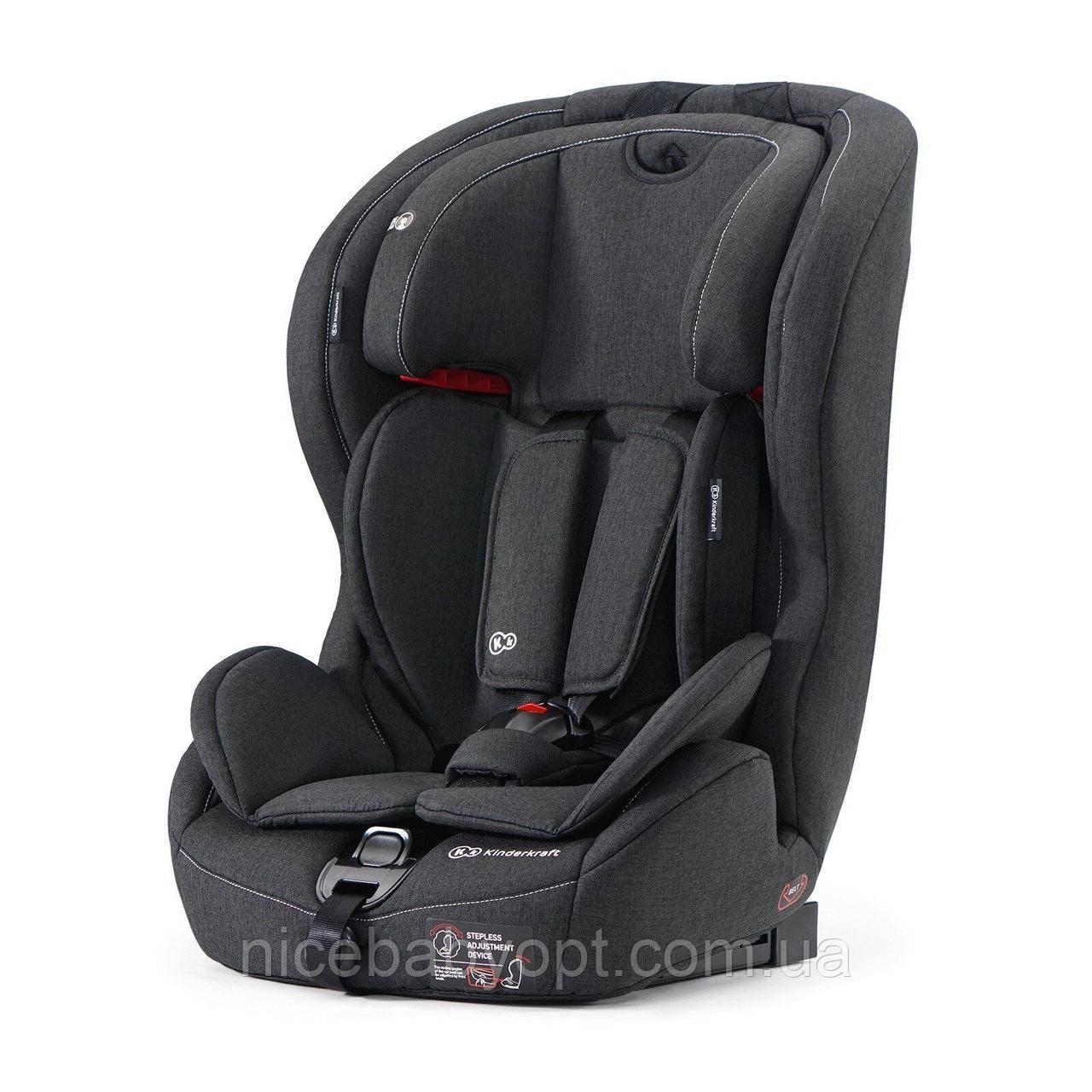 Автокресло Kinderkraft Safety Fix Black 9-36 кг (группа 1-2-3)