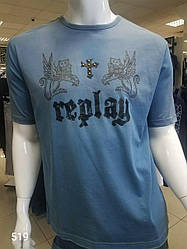 Качественная мужская футболка REPLAY M