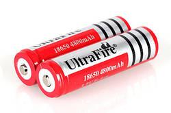 Аккумулятор Li-ion Ultra Fire 3.7V 18650 4800 mah