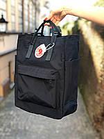 Рюкзак сумка тканевый Канкен 20л Fjallraven Kanken Totepack 20L темно-синий Киев