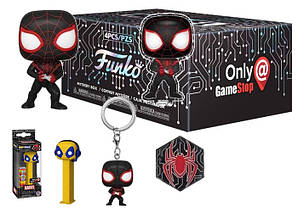 Бокс Funko Marvel Mystery Box Человек паук Spider Man BOX M SM 7